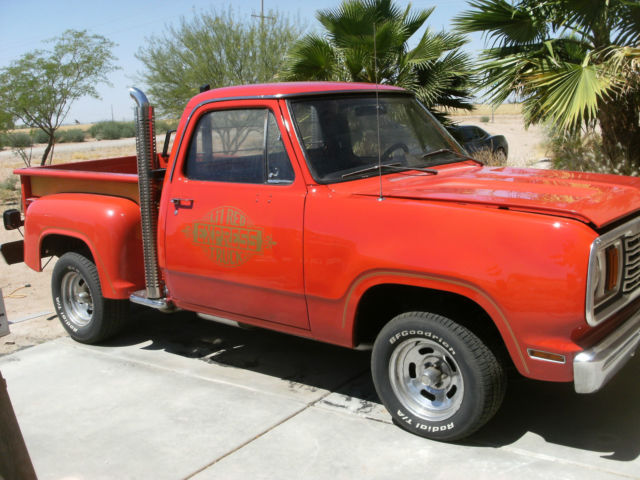 1978 Dodge Other Pickups Lil Red Express