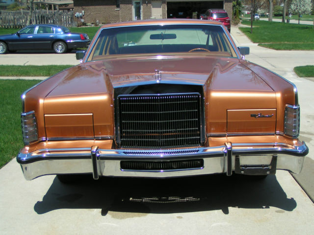 Lincoln Continental 1978 Town Coupe 2 Door One Owner 12 010 Miles