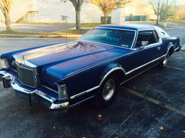 1976 Lincoln Mark Series Continental Mark 4