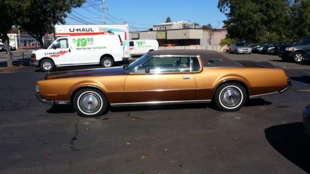 1972 Lincoln Mark Series Coupe