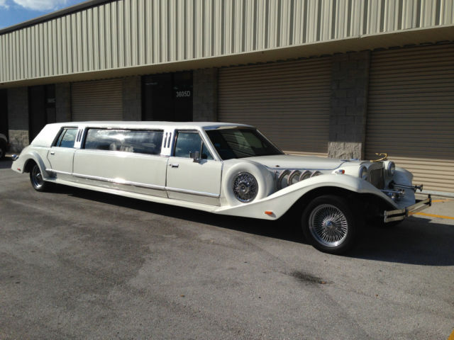 Lincoln Limousine Town Car For Sale Photos Technical