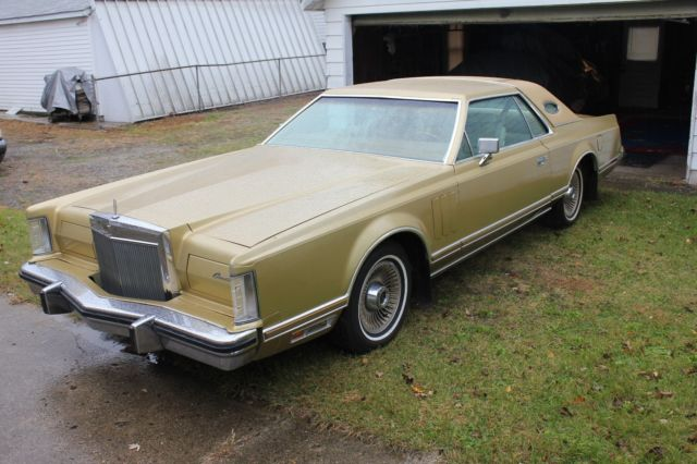 1979 Lincoln Mark Series Mark V