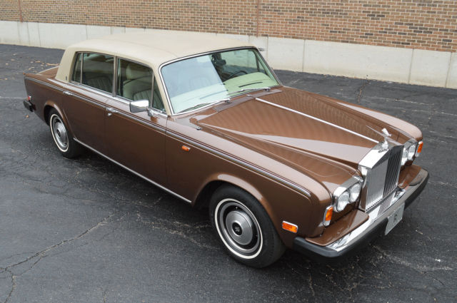 1980 Rolls-Royce Silver Shadow - Wraith II, Fuel Injected model