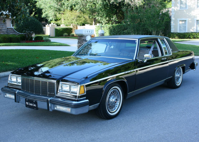 1983 Buick Park Avenue SURVIVOR-58K