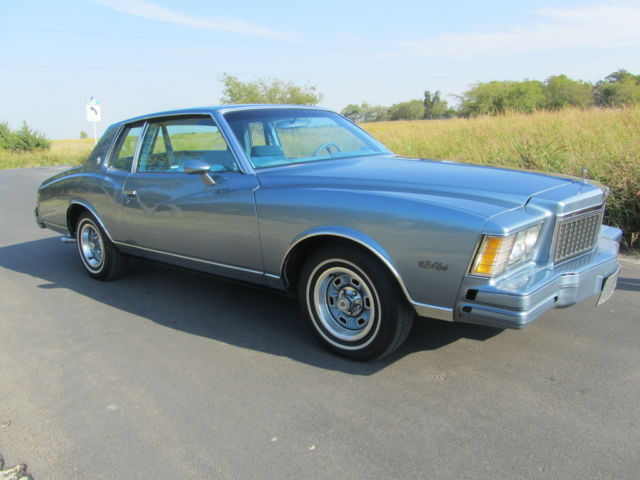 1979 Chevrolet Monte Carlo TEXAS SOLID SURVIVOR                         regal