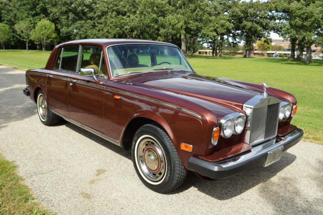 1978 Rolls-Royce Silver Shadow II : 4 door saloon