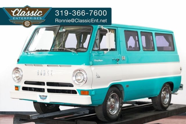 1965 Dodge A-100 Camp Wagon by Travco very original ready for camping and show