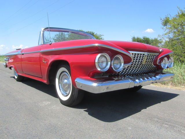 1961 Plymouth  FURY CONVERTIBLE  LOW PRODUCTION NUMBER COLLECTOR STUNNING MOPAR