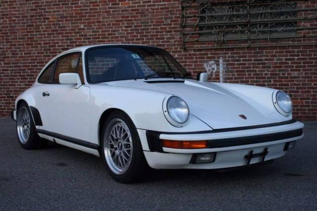 1988 Porsche 911 Carrera 2dr Coupe Coupe 2-Door Manual 5-Speed