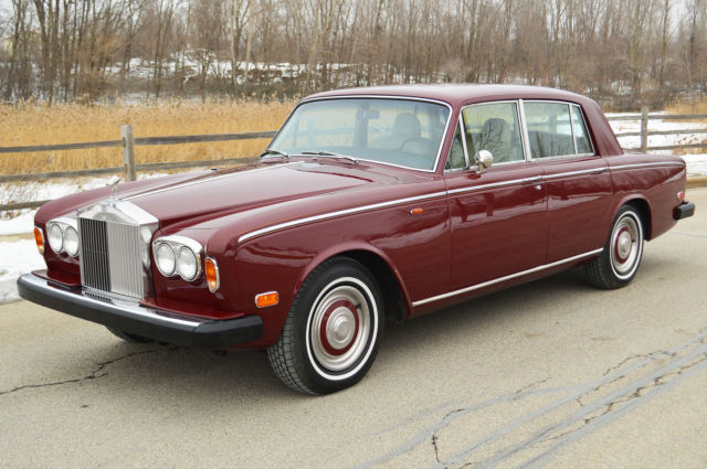 1973 Rolls-Royce Silver Shadow - 4 door sedan