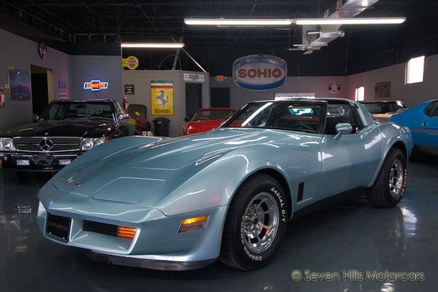 1981 Chevrolet Corvette #'s Match