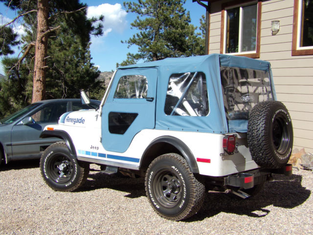 1980 Jeep Renegade