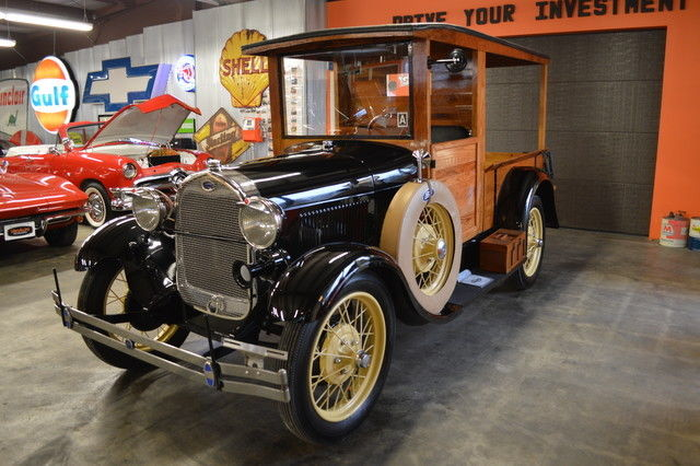 1929 Ford Model A Huckster Woodie