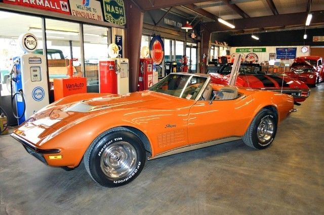 1972 Chevrolet Corvette Stingray Convertible 454 LS5