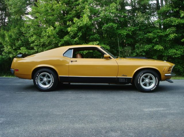 Lqqk No Reserve Mustang Mach 1 Original 351 With 4 Sd Ford 9 Rear End