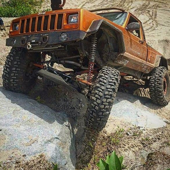 Ls Powered Jeep Mj Rock Crawler Off Road Buggy One Of A Kind For