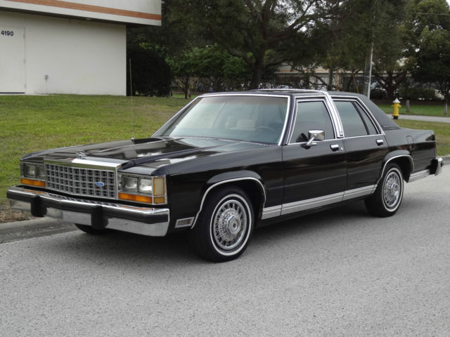 1987 Ford Crown Victoria LTD Crown Victoria LX