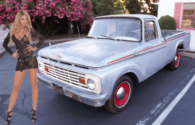 1963 Ford F-100 No Reserve Unmolested Patina California Pick-Up V8