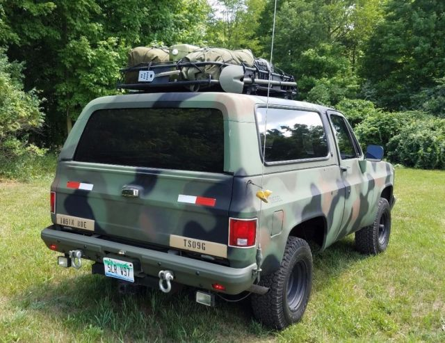 Bug Out Vehicle M1009 : M cucv emp prepped runs strong winch invertor