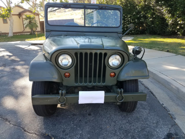 1964 Jeep M38a1 Military