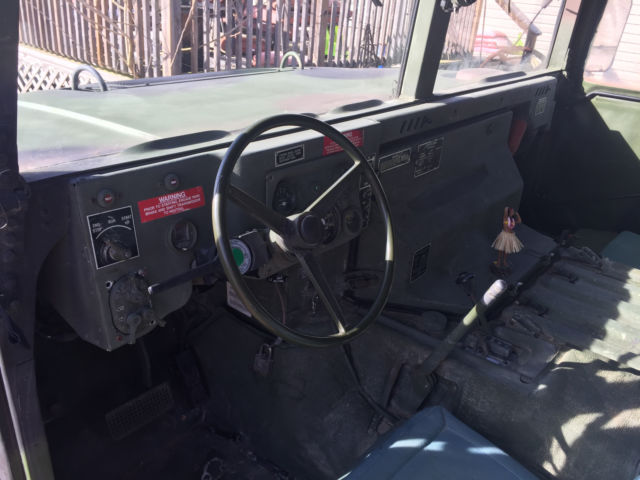 M998 HMMWV HUMVEE HUMMER M1025 RED DOT AC 4 MAN 2 MAN ARMORED WINCH