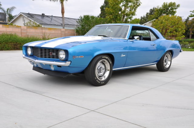 1969 Chevrolet Camaro Z/28 Z28 Original Frame Off Restored