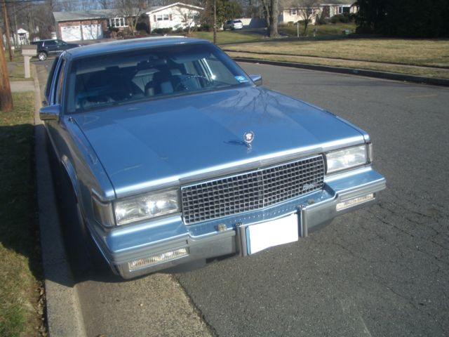 Magnificent 1988 Cadillac Sedan Deville 4 5 Liter V8 1