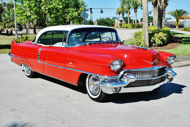 19560000 Cadillac DeVille one of the finest 56 cadi just 33ks laser straight
