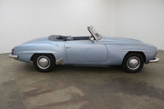 Manual with solex carburetors hard top only spare tire for Mercedes benz tire jack