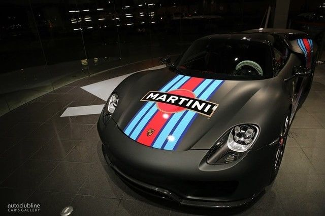 Martini Racing Livery Speedster Outlaw 918 356 911 Emory