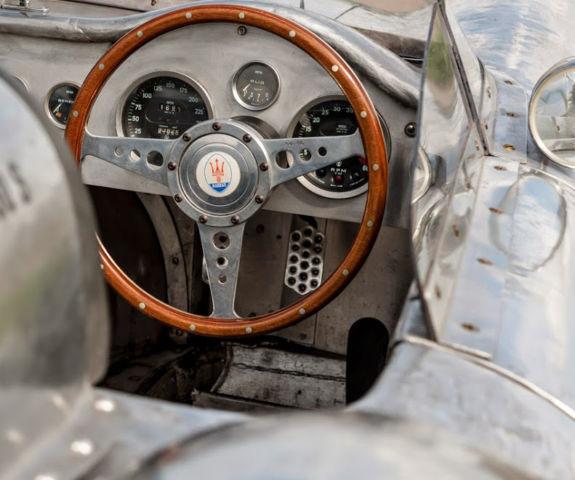 Maserati 450 S Barchetta Colour Ferrari Silver 350 CV 1963