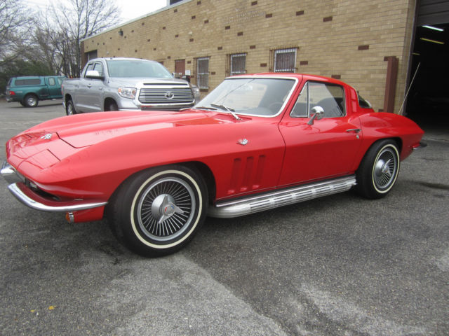 1965 Chevrolet Corvette COUPE SOLID LIFTER 327/365HP