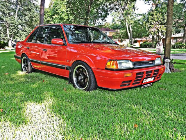 Mazda 323 GT Turbo Sedan GTX B6T for sale photos technical