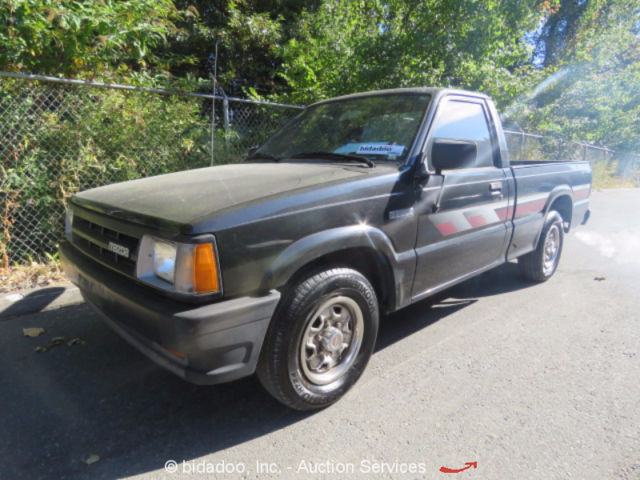 Mazda B2200 Regualr Cab Pickup Truck 6 Bed 5 Spd Manual 2 2