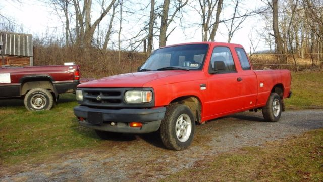 1993 Mazda B-Series Pickups TURBO DIESEL