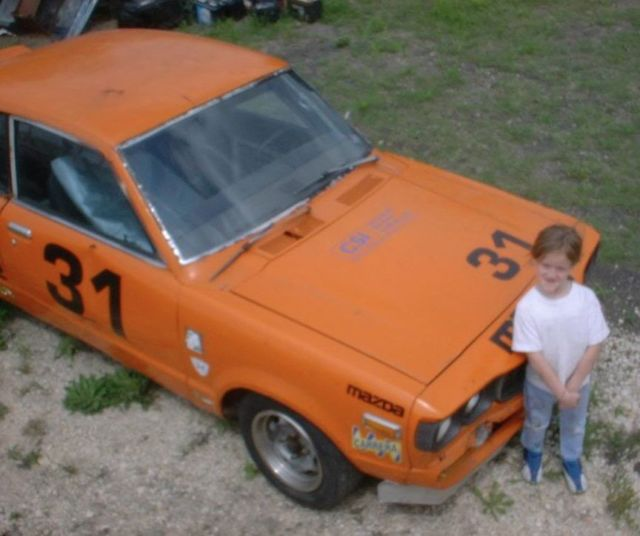 Someone Bought Her A Car After She Type: Mazda RX3 SP SCCA Original Race Car With Log Books For