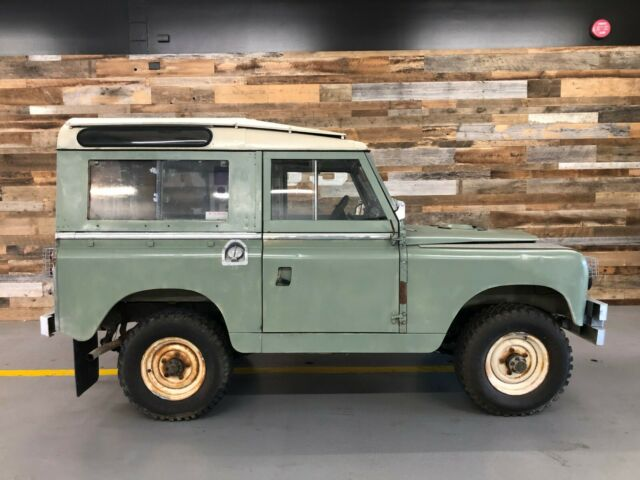 1966 Green Land Rover Other
