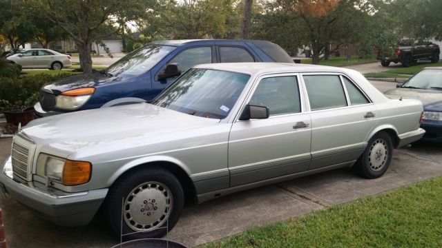 1991 Mercedes-Benz 300-Series 350 SDL Turbo Diesel