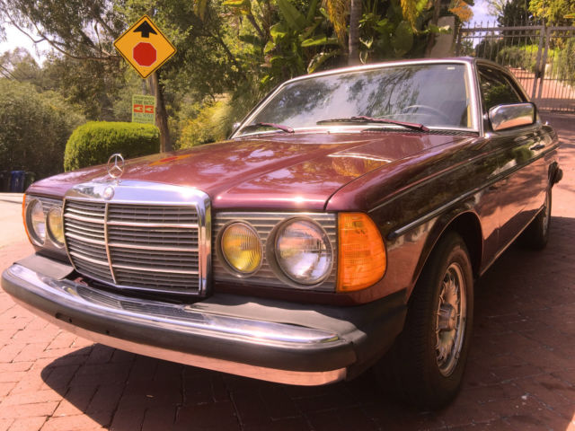 1985 Mercedes-Benz 300-Series 300CD 300d cd cdt 300cdt