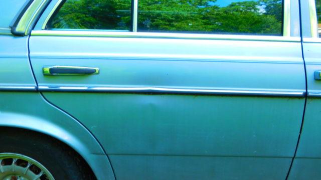 Mercedes D Turbo Diesel Sedan Solid No Rust For