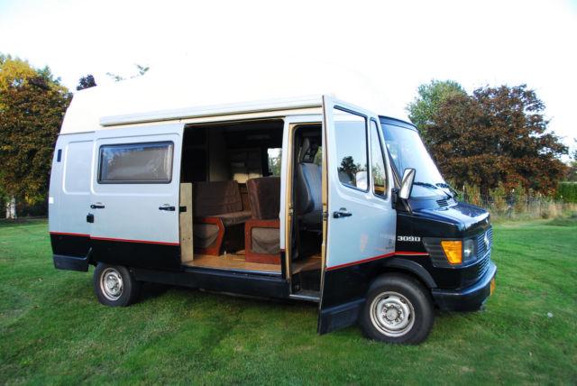 Mercedes 309d westfalia rv camper van not vanagon sprinter for Mercedes benz camper van price