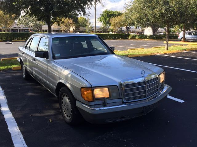 1991 Mercedes-Benz 300-Series 350SDL Turbodiesel