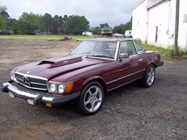 mercedes 450SL W107 with 454 Chevy Big Block Engine for sale: photos