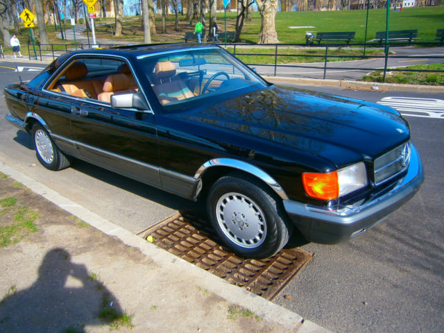 1984 Mercedes-Benz 500-Series sec