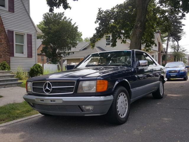 Mercedes 560 SEC Euro Edition for sale: photos, technical