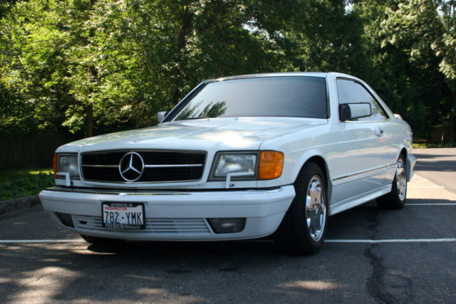1988 Mercedes-Benz 500-Series SEC