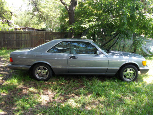 Mercedes 560 sec w126 coupe 1990 for sale photos for Mercedes benz w126 for sale