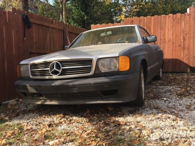 1986 Mercedes-Benz 500-Series wide body