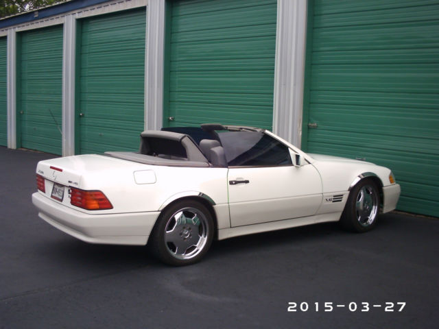 Mercedes 600SL AMG for sale photos technical specifications