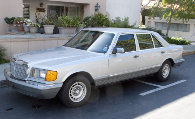 1981 Mercedes-Benz 300-Series 380 SEL